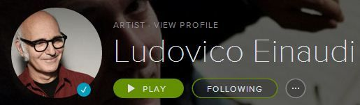 Ludovico Einaudi Spotify